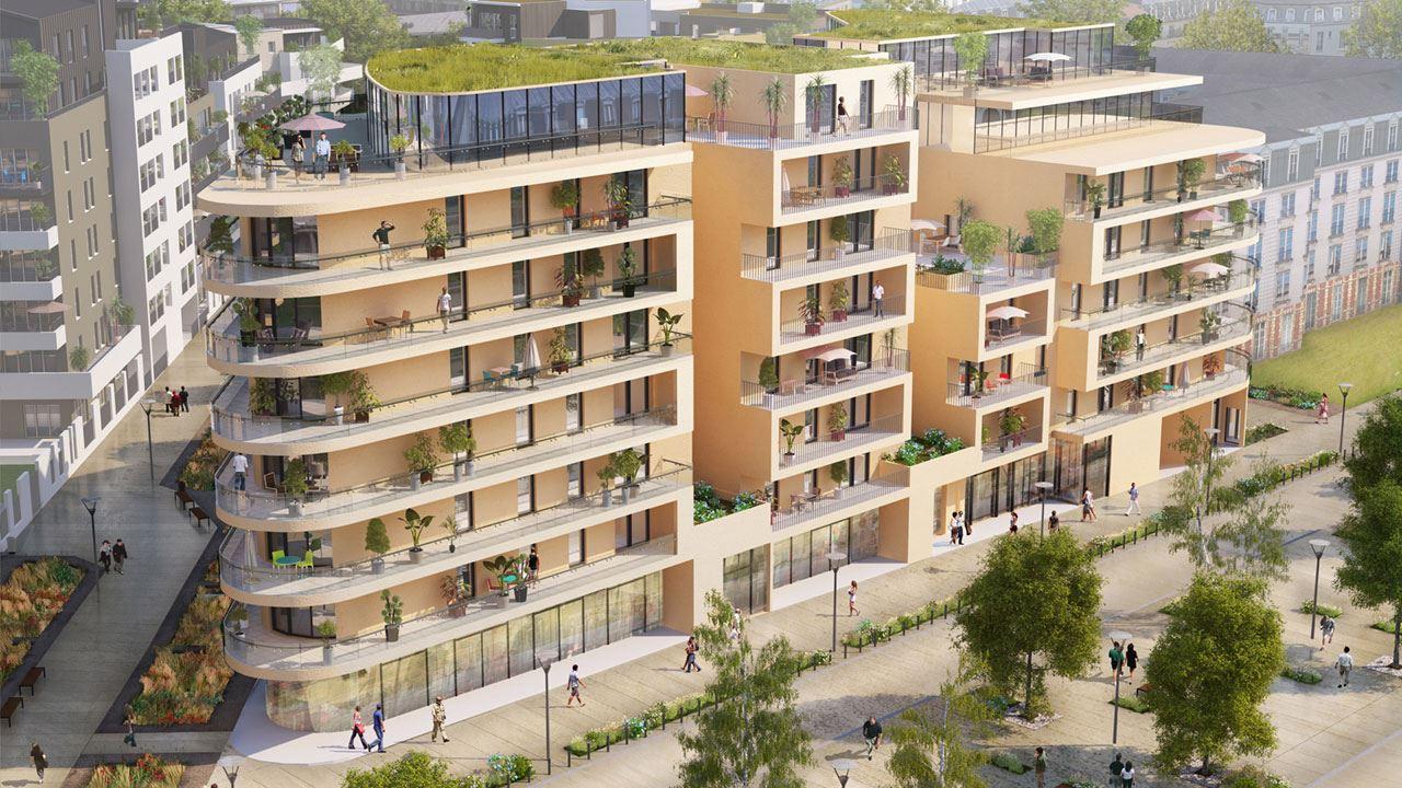 Facade Residence Le Gouverneur Quartier Coeur Imperial Metz 18139494/ Le Gouverneur
