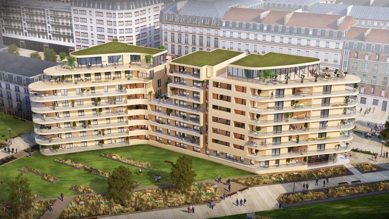 Vue Jardins Residence Le Gouverneur Quartier Coeur Imperial Metz 70338737/ Le Gouverneur