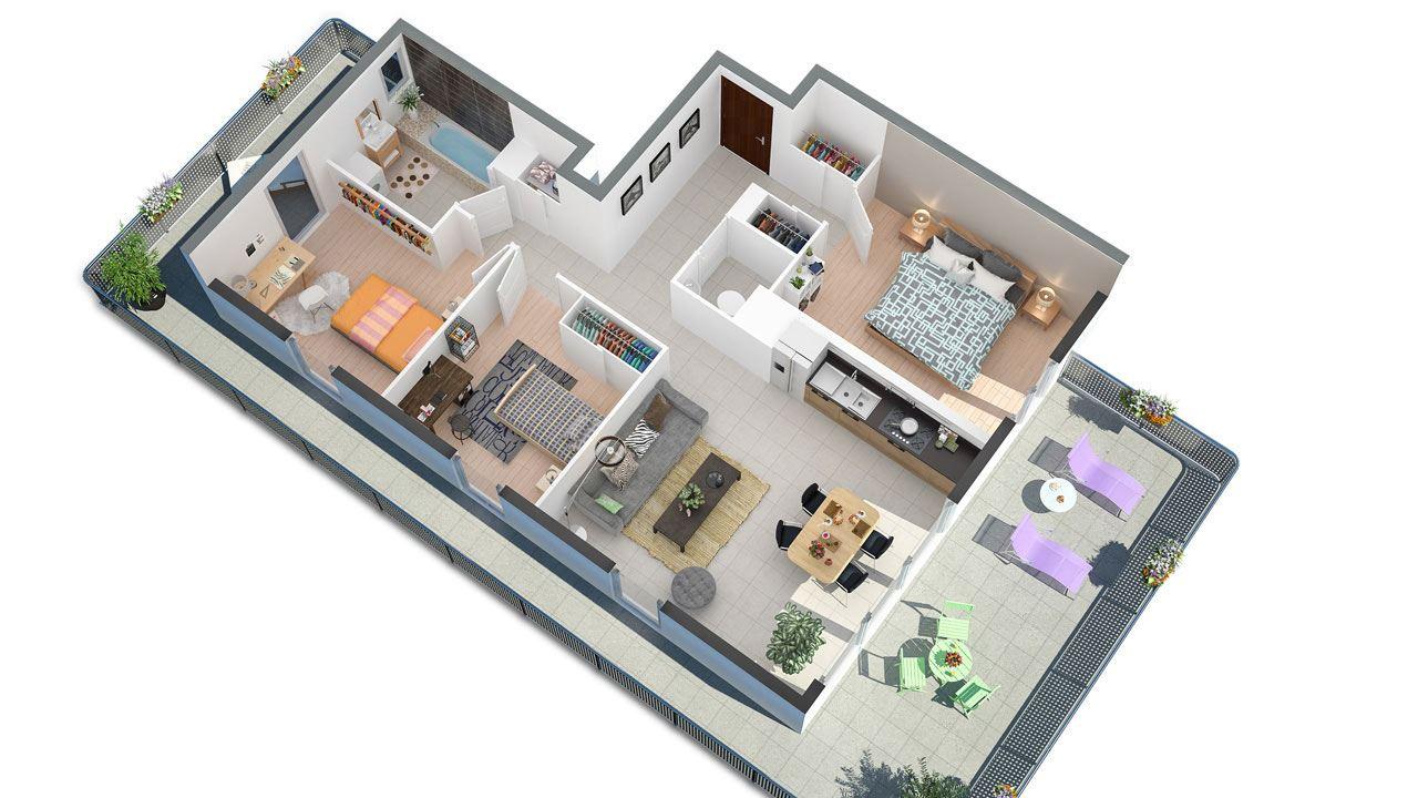 Plan3d Via Verde Apaprtements Neufs A Nancy 66629331/ Via Verde