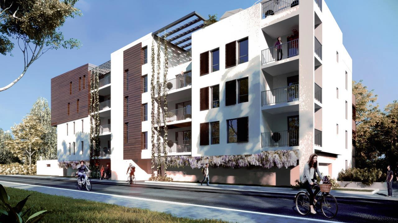 Facade Villa Charmille Appartements Neufs A Strasbourg 51172492/ Villa Charmille