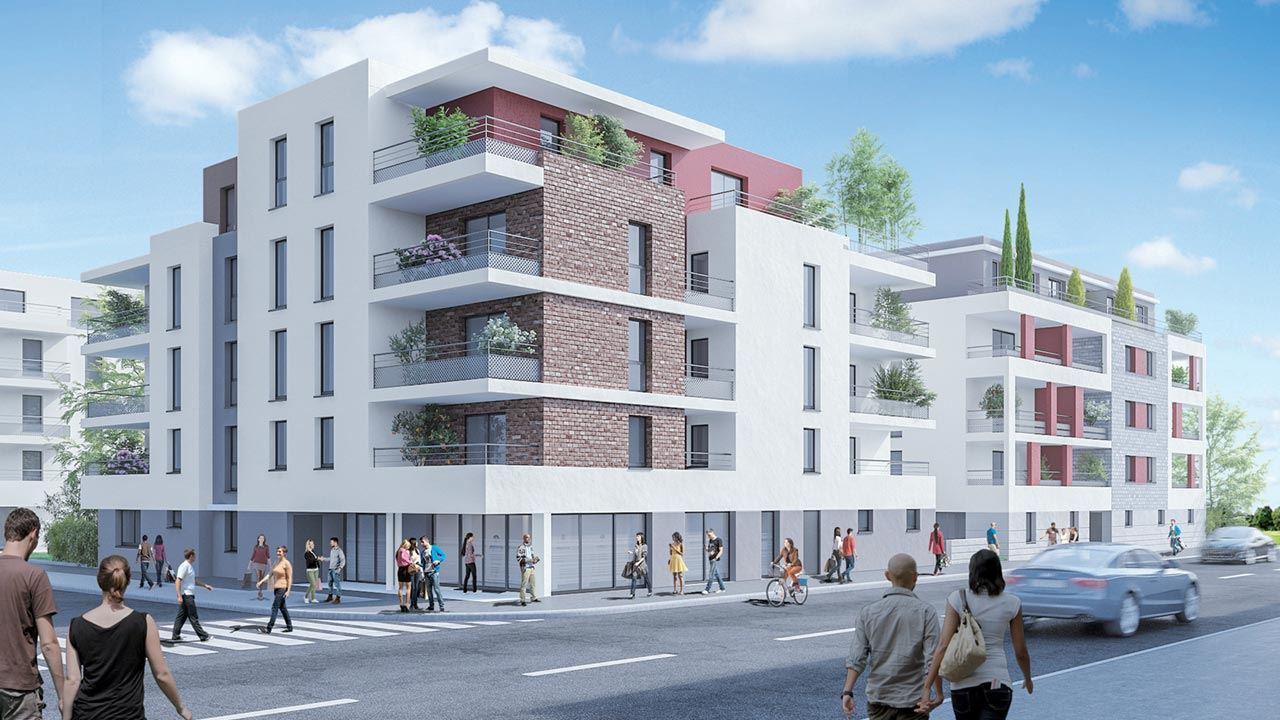 Facade Residence Neuve Cote Marianne Yutz 59064043/ Côté Marianne